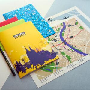Inhalt des Puzzlehunt Cologne Spielkits